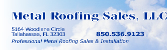 Metal Roofing Sales